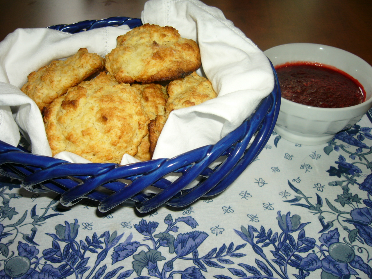 Quick Strawberry Jam and Easy Drop Biscuits   The Seasonal ...