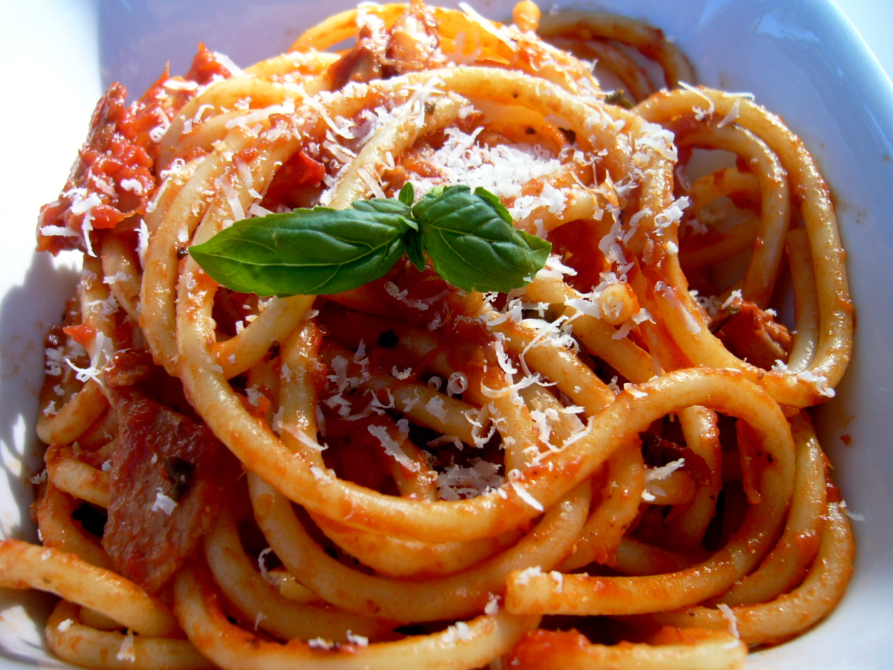 Pasta Amatriciana Recipe — Dishmaps