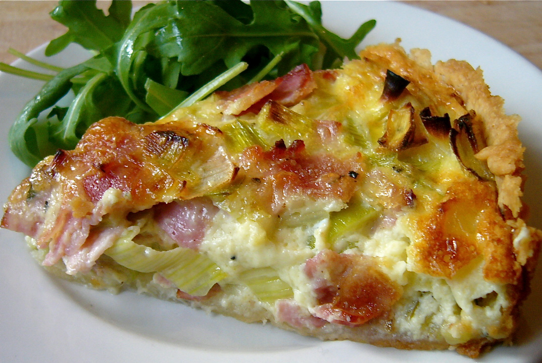 Leek and Ham Tart | The Seasonal Gourmet
