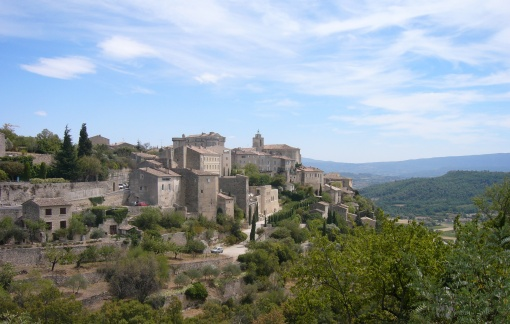 The Provencal countryside