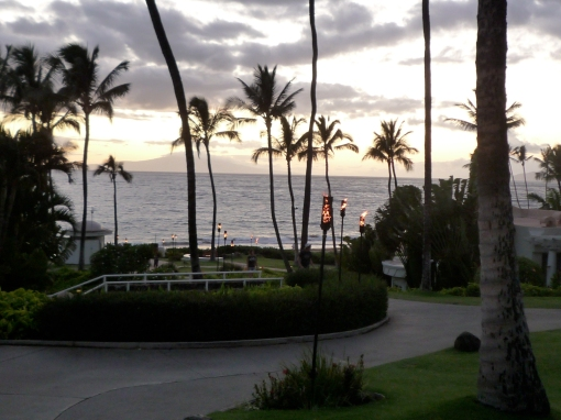 The grounds of the Fairmont Kea Lani, Wailea, Maui