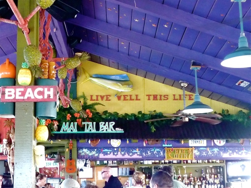 Some good advice from Cheeseburger in Paradise, Lahania, Maui