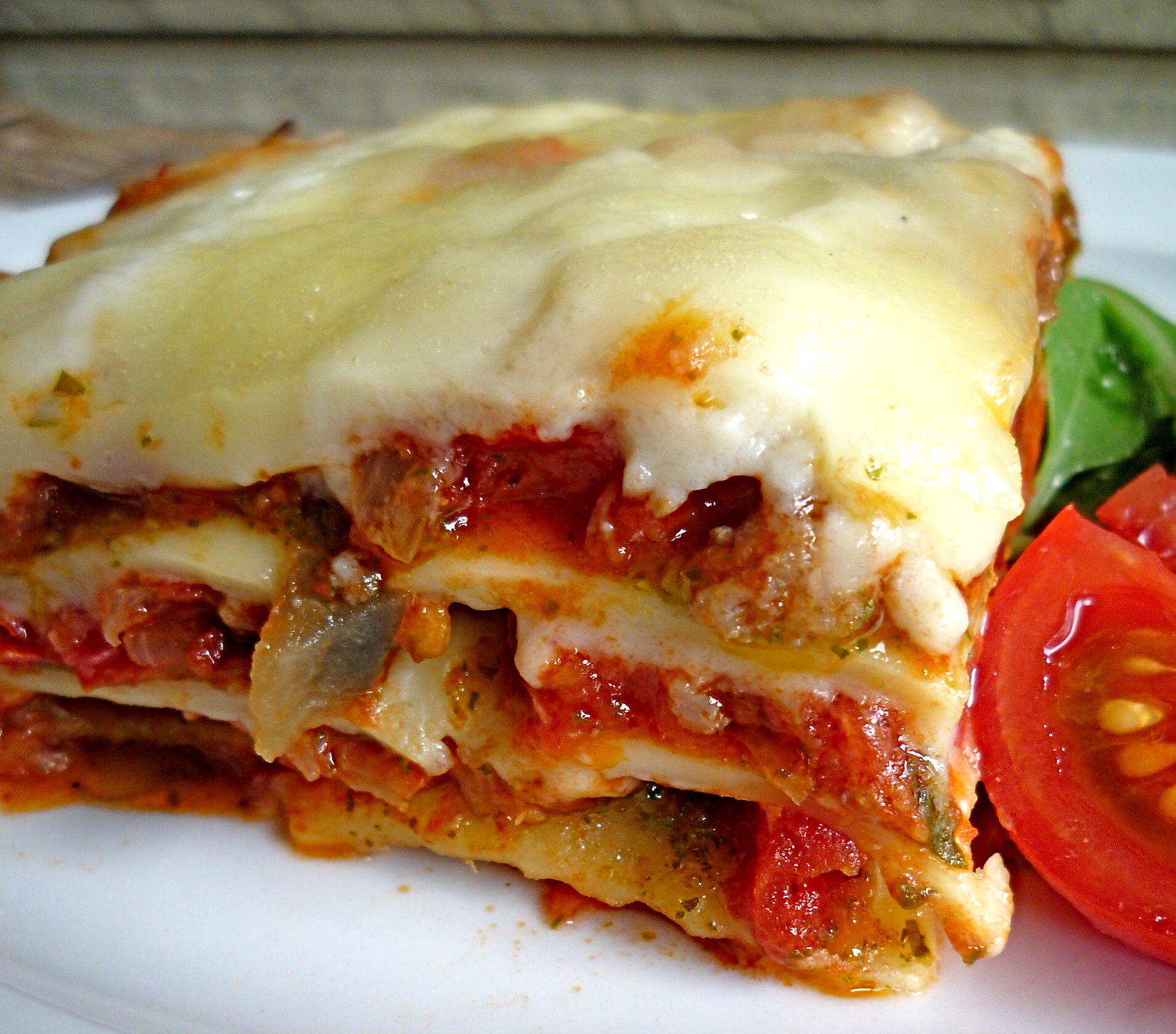 Summer Lasagna with Vegetables, Sausage and Pesto | The Seasonal ...