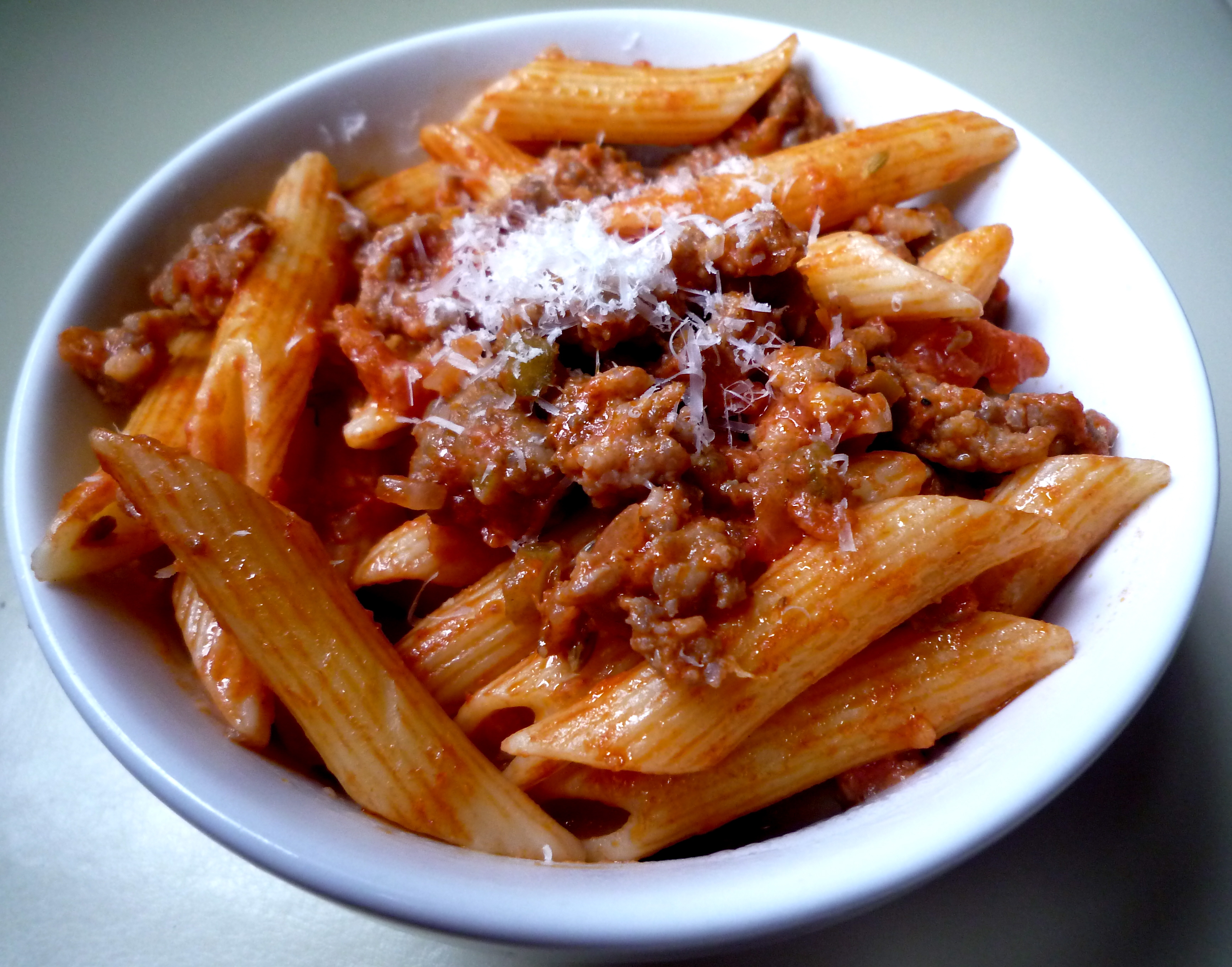Penne with Sausage and Fennel Seed | The Seasonal Gourmet